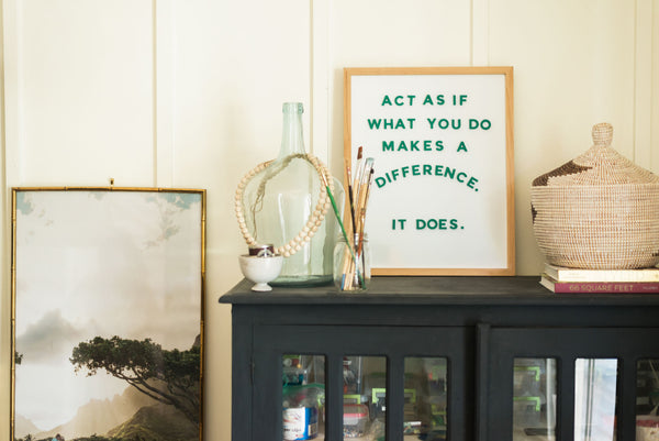 11 Letterboard Quote Ideas that Uplift & Inspire