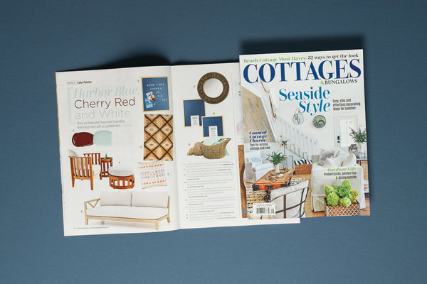 Featured in Cottages & Bungalows Coastal Edition August-September 2020