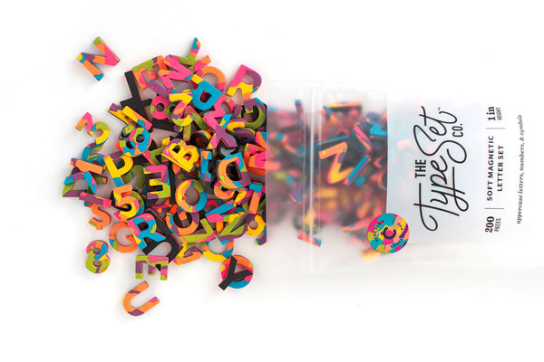 Party On! With These NEW Confetti-Inspired Magnetic Letters