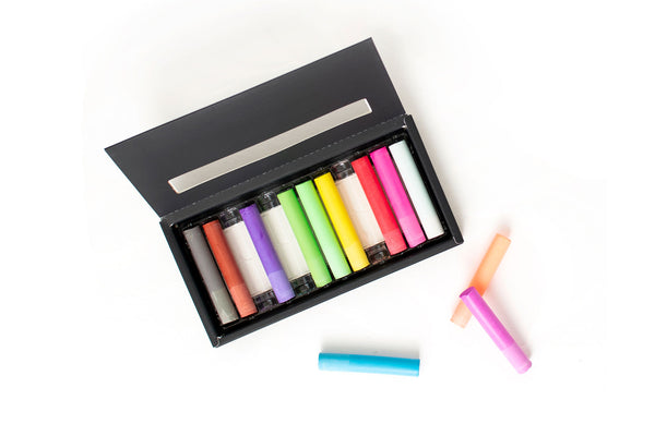 Recycled Sea Scallop Rainbow Colored Chalk