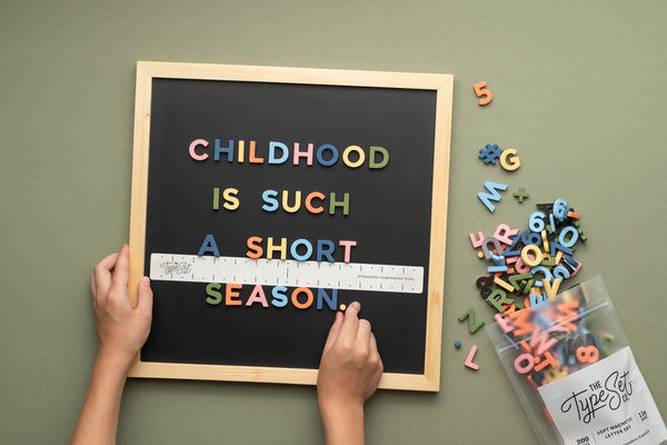 10 Letterboard Quote Ideas About Childhood