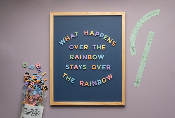 21 Rainbow-Inspired Letter Board Quotes to Brighten your Day