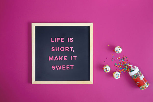 25 Short & Sweet Letter Board Quote Ideas