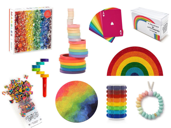 Rainbow Inspired Gift Ideas