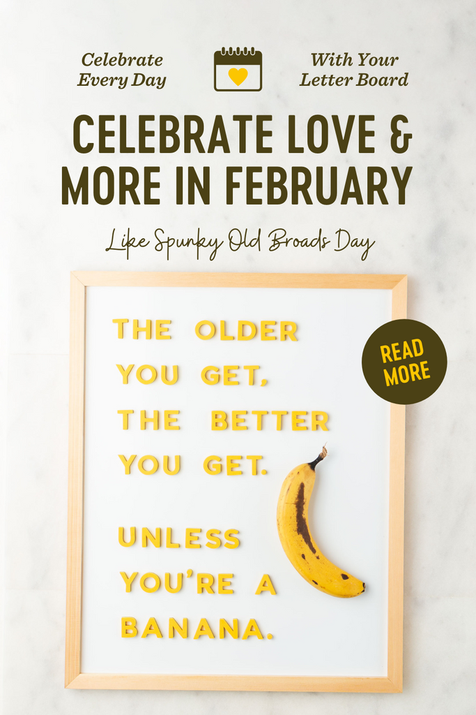Celebrate February Holidays with Letterboards