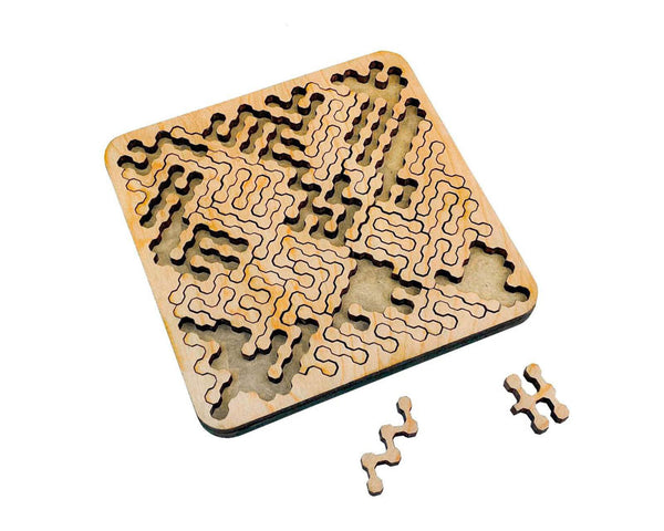 Mind Bending Wooden Puzzle by Torched Products