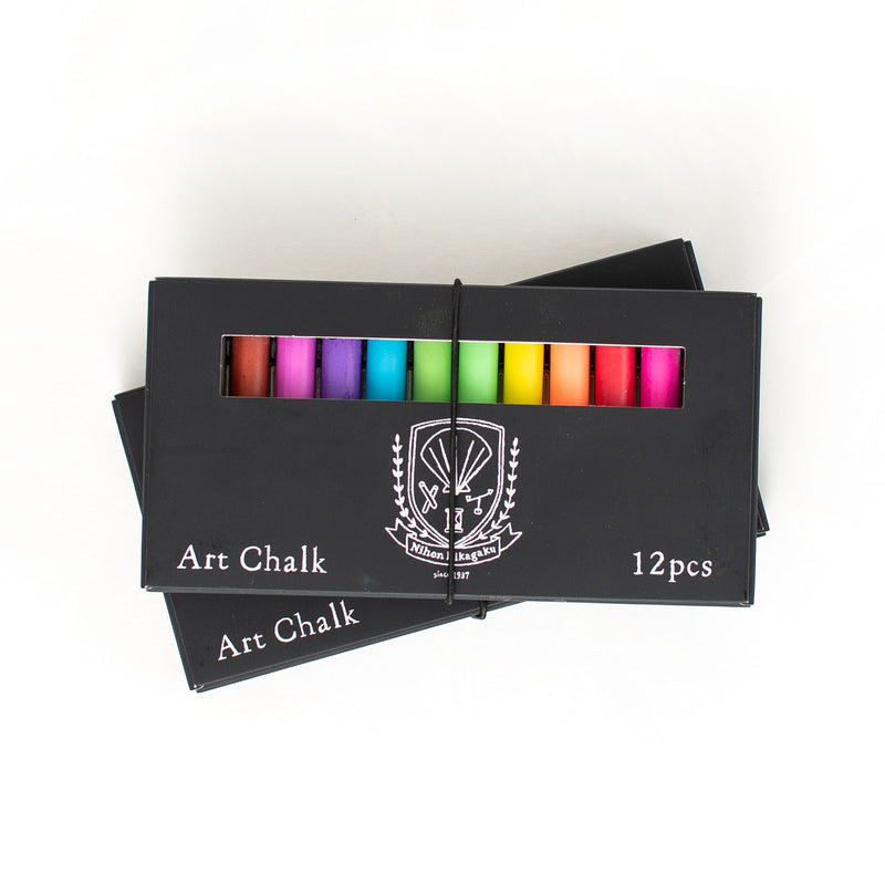 Rikagaku Art Chalk 12 pcs
