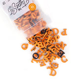 "Soft Magnetic Letters 1"" Serif - Orange Cream"