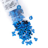 "Soft Magnetic Letters 1"" Serif - Blue Plate"