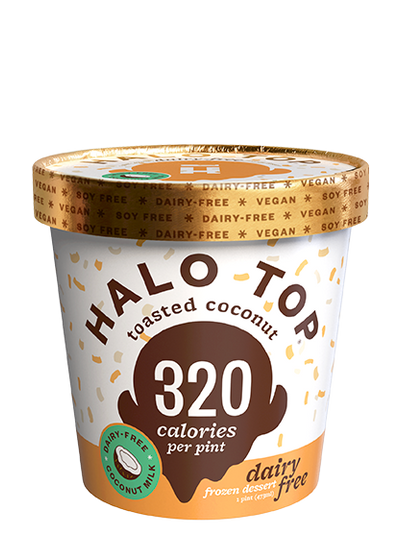 Dairy-Free Toasted Coconut
