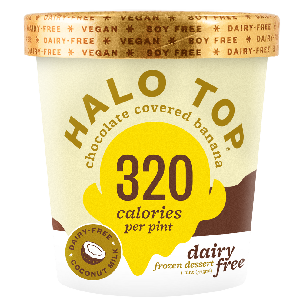 halo top dairy free chocolate banana ice cream