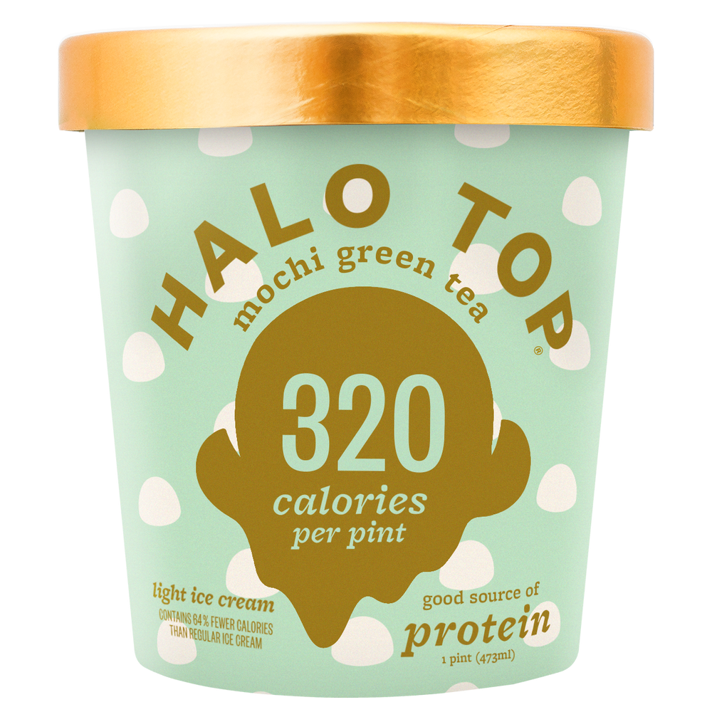 halo top green tea mochi ice cream