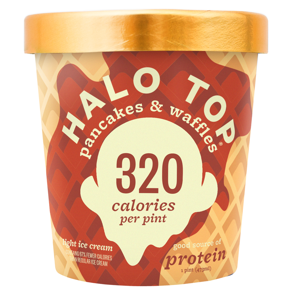 halo top pancake and waffle ice cream