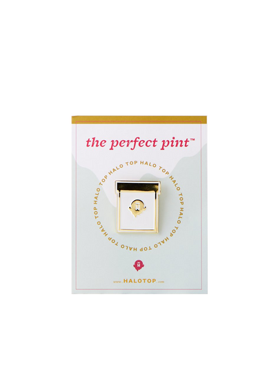 Halo Top pint pin