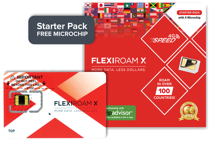 Flexiroam - 100MB - Starter Pack