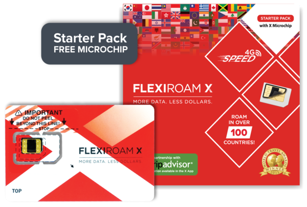 Flexiroam Xcite 53 - 1GB - Starter Pack