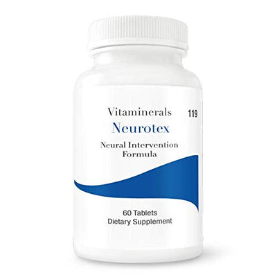 VITAMINERALS 119 Neurotex™ Brain & Nerves Support Neural Nutritional Intervention 60 Count