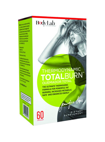 Body Lab 7 Thermogenic Total Burn, 60 Count