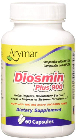 Arymar Diosmin Plus 900, 60 Count