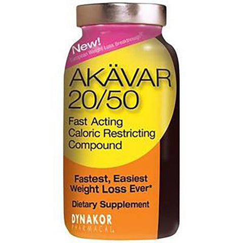 Akavar 20/50 120ct - Fast Acting Caloric Restricting Compound