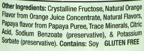 Aloe Life - Orange Papaya Whole Leaf Juice Concentrate, Supports Occasional...