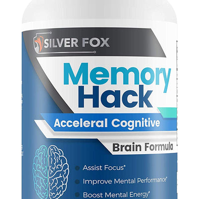 Memory Hack - Acceleral Cognitive Brain Formula - Support Mental Endurance...