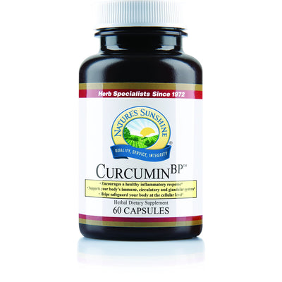 Nature's Sunshine Curcumin BP 60 caps 1100 mg Tumeric