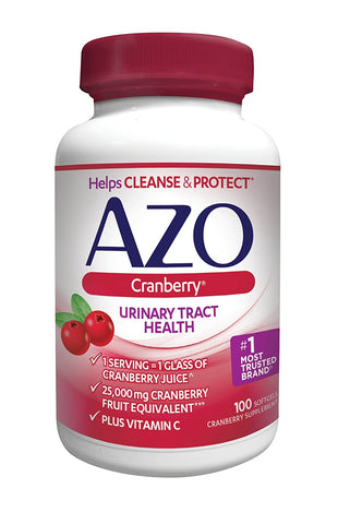 AZO® Cranberry Urinary Tract Health Dietary Supplement | 1 Serving = 1 Glass...