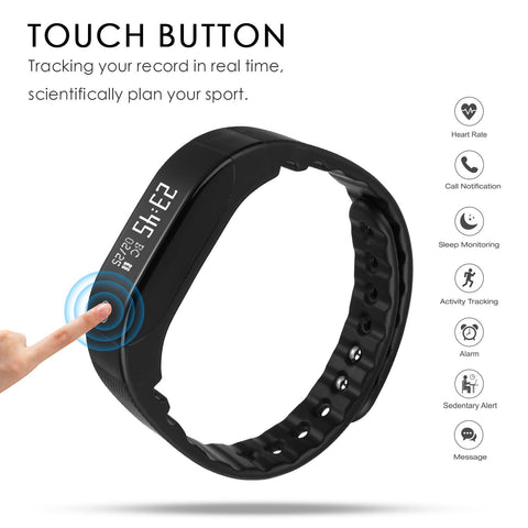 AOKII Wirless Fitness Tracker,Sport Wristband with Multi-Functions Activity...