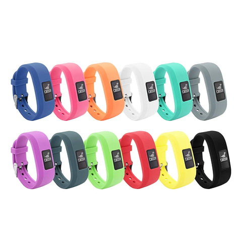 BeneStellar 12 Colors Garmin Vivofit JR Bands with Secure Watch Clasp...