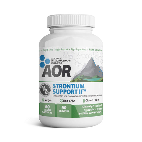Advanced Orthomolecular Research - Strontium Support II, Mineral for a...