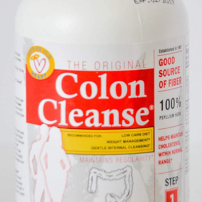 Health Plus The Original Colon Cleanse 200 Capsules Bulk Forming Dietary...