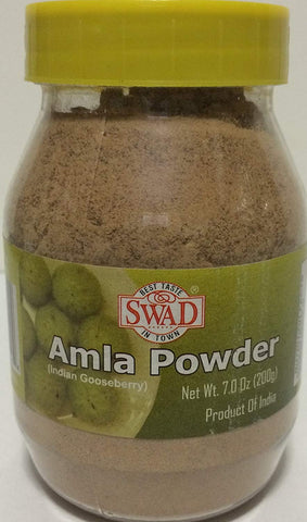 200G AMLA POWDER PURE & NATURAL FOR HAIR LOSS FALL EDIBLE - Indian Gooseberry