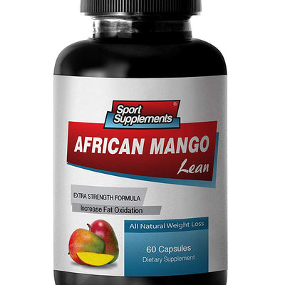 Natural fat burner pills for women - AFRICAN MANGO LEAN EXTRACT - African...