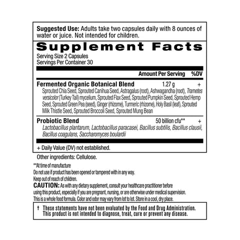 Ancient Nutrition SBO Probiotic Supplement Dr. Axe Formula, Soil-Based...