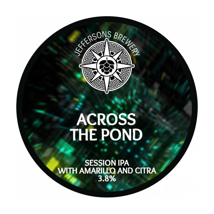 Across The Pond - Session IPA, 3.8% (6 x 330ml Cans)