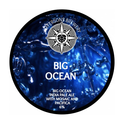 Big Ocean - IPA, 6% (6 x 330ml Cans)