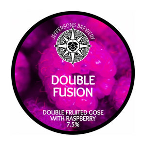 Double Fusion - Double Raspberry Gose, 7.5% (6 x 440ML Cans)