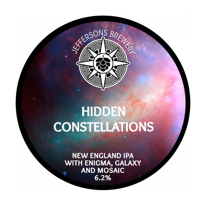 Hidden Constellations - New England IPA, 6.2% (24 x 330ml Cans)