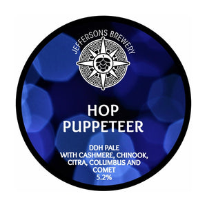 Hop Puppeteer - DDH Pale, 5.2% (6 x 330ml Cans)