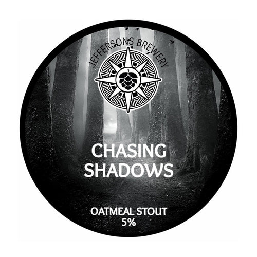 Chasing Shadows - Oatmeal Stout, 5% (12 x 440ML Cans)