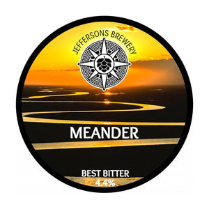 Meander - Best Bitter, 4.4% (6 X 440ml Cans)