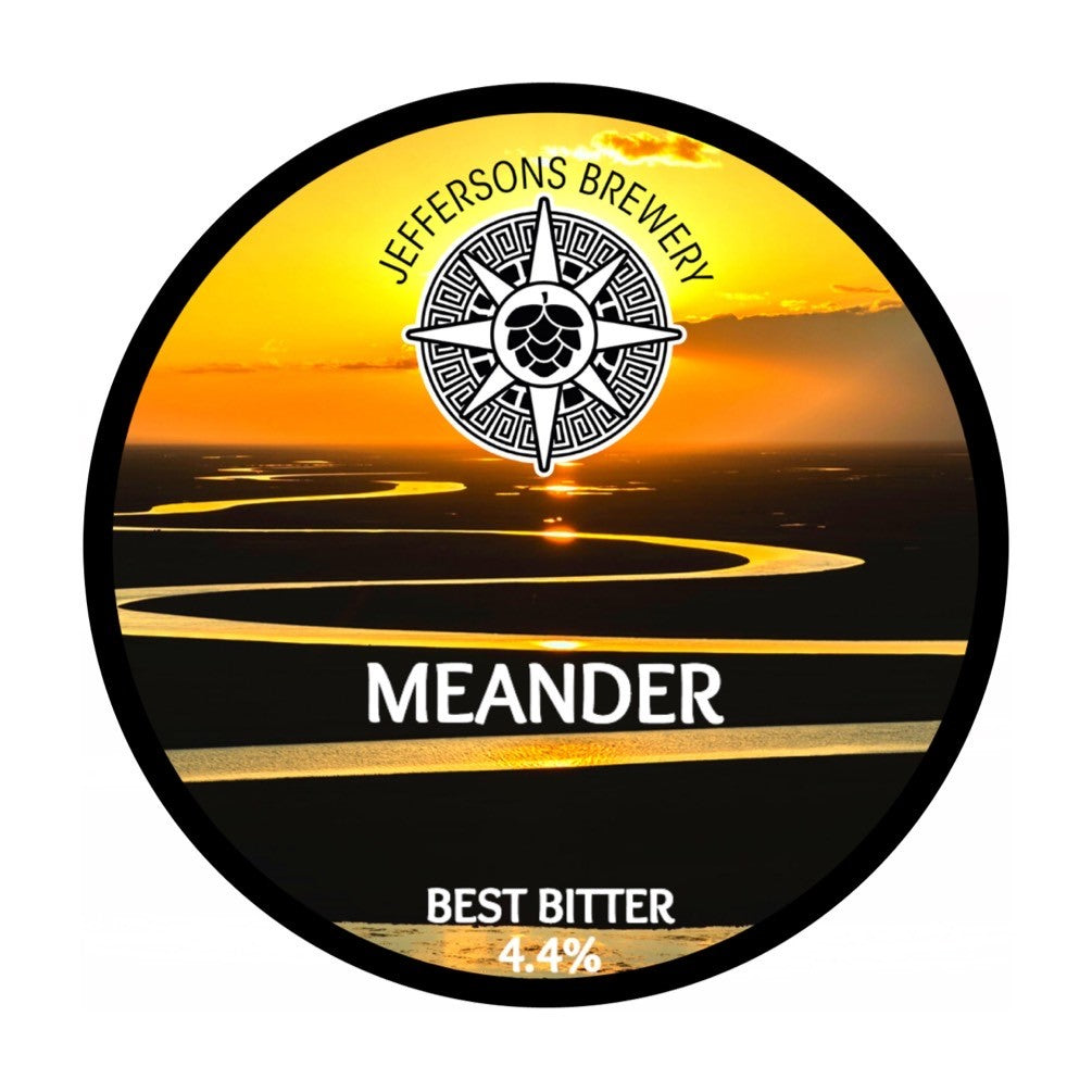 Meander - Best Bitter, 4.4% (12 X 440ml Cans)