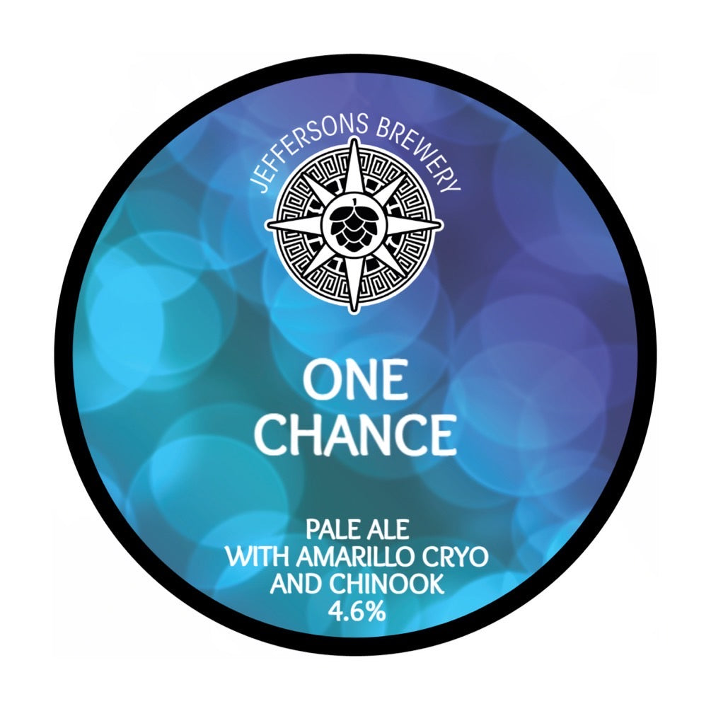 One Chance - Pale, 4.6% (24 x 440ml Cans)