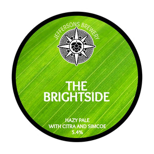 The Brightside - Hazy Pale, 5.4% (24 X 330ml cans)