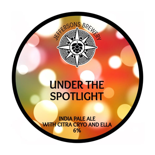 Under The Spotlight - India Pale Ale, 6% (6 x 440ML Cans)