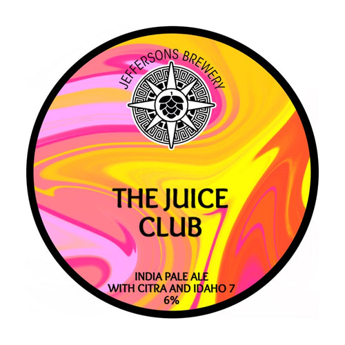 The Juice Club - India Pale Ale, 6% (6 x 440ml Cans)