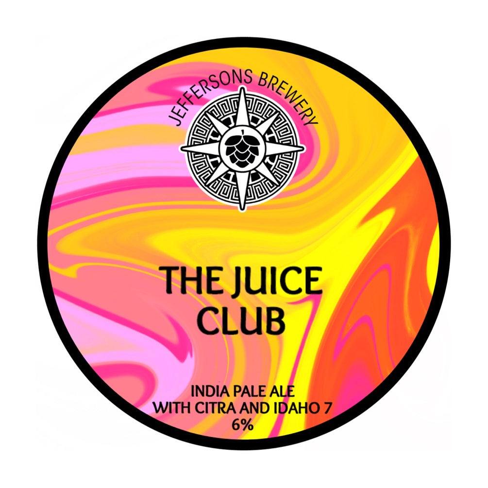 The Juice Club - India Pale Ale, 6% (12 x 440ML Cans)
