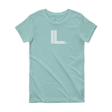 IL - State of Illinois Abbreviation - Short Sleeve Women's T-shirt