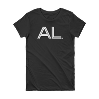 AL - State of Alabama Abbreviation - Short Sleeve Women's T-shirt